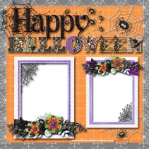 Ornaments to Apply on Halloween Scrapbook Pages Halloween Scrapbooking Page Ideas