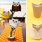 Owl Craft Toilet Paper Roll Paper Owl Craft
