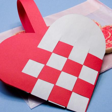 Paper Bag Valentine Crafts Heartbasketred440 paper bag valentine crafts |getfuncraft.com
