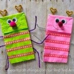 Paper Bag Valentine Crafts Paper Bag Crafts Adorable Love Bug Puppet A Great Valentines Day Craft Or Activity For Kids 2