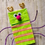Paper Bag Valentine Crafts Paper Bag Crafts Adorable Love Bug Puppet A Great Valentines Day Craft Or Activity For Kids