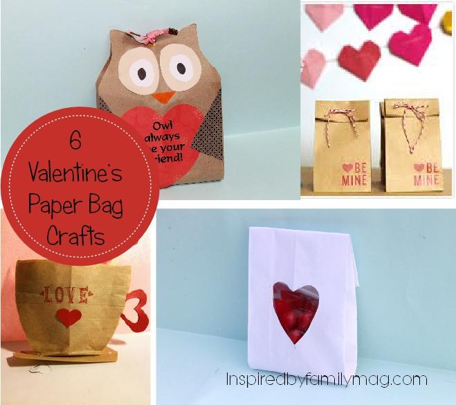 Paper Bag Valentine Crafts Valentines Paper Bag Crafts paper bag valentine crafts  getfuncraft.com
