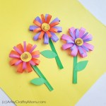 Paper Craft For Kids Flowers 23