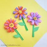 Paper Craft For Kids Flowers 23 paper craft for kids flowers|getfuncraft.com