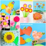 Paper Craft For Kids Flowers Flower Crafts For Kids To Make