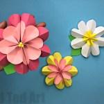 Paper Craft For Kids Flowers Paper Flower Diy paper craft for kids flowers|getfuncraft.com