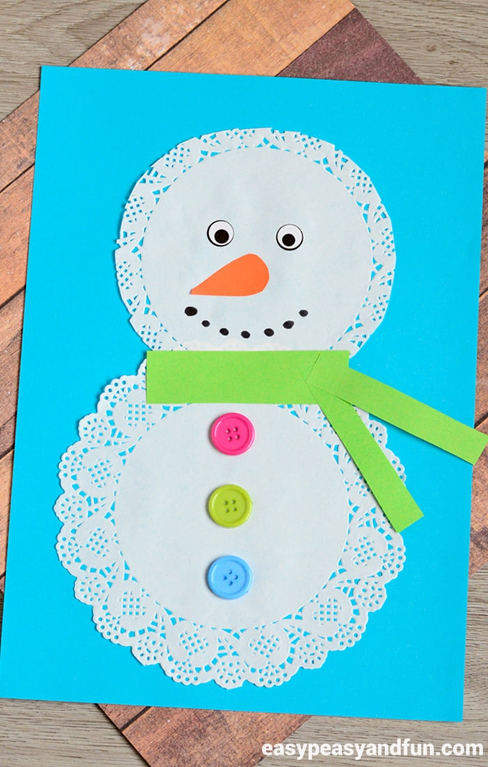 Paper Doily Crafts For Kids