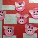 Paper Plate Pig Craft Closeuppig
