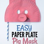 Paper Plate Pig Craft Easy Paper Plate Pig Mask