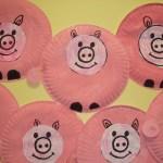 Paper Plate Pig Craft Paper Plate Pig Craft Idea paper plate pig craft getfuncraft.com