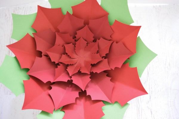 Paper Poinsettia Craft Dsc 0701 paper poinsettia craft|getfuncraft.com