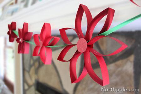 Paper Poinsettia Craft Img 7106b paper poinsettia craft|getfuncraft.com