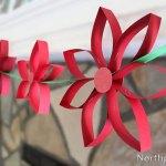 Paper Poinsettia Craft Img 7106b