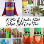 Paper Roll Craft Ideas 10 Fun Creative Toilet Paper Roll Craft Ideas From North Carolina Lifestyle Blogger Adventures Of Frugal Mom 1 1 paper roll craft ideas |getfuncraft.com