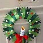 Paper Wreath Craft 47 paper wreath craft getfuncraft.com