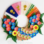 Paper Wreath Craft Recycled Material Paper Flower Wreath 58aca6145f9b58a3c956175f paper wreath craft getfuncraft.com