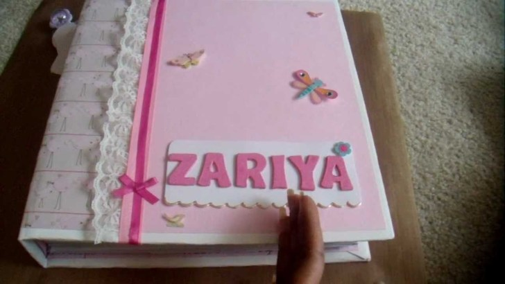 Scrapbook Baby Book Ideas for Baby's First Year