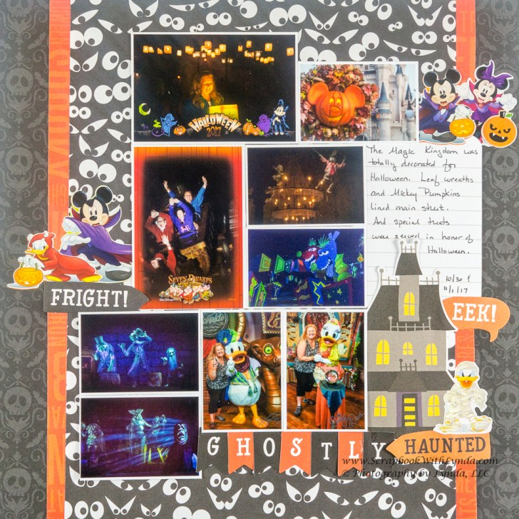 Scrapbooking Layouts Halloween for Kids and Adults