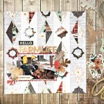 Simple Guidelines To Choose Scrapbook Layouts Hello Farm Life Scrapbooking Layout And Free Cut File