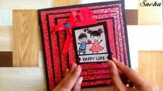 Simple Steps to Create Birthday Scrapbook Ideas How To Make Scrapbook Scrapbook Tutorial Birthday Scrapbook Valentine Scrapbook Ideas