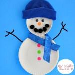 Snowman Paper Plate Craft 029 Snowman Plate Craft Fb snowman paper plate craft|getfuncraft.com