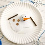 Snowman Paper Plate Craft Melted Snowman Paper Plate Craft 8 680x510