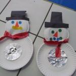 Snowman Paper Plate Craft Snowman Paper Plates snowman paper plate craft|getfuncraft.com