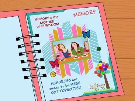 Things to Know about Creating Friendship Scrapbook Ideas How To Scrapbook With Pictures Wikihow