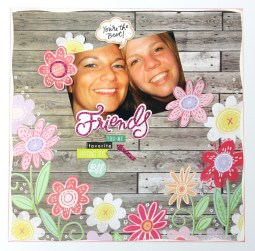 Things to Know about Creating Friendship Scrapbook Ideas Scrapbook Pages Using New 12x12 Designer Paper Packs Me