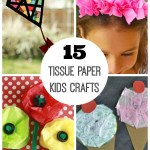 Tissue Paper Crafts Ideas 15 Tissue Paper Crafts For Kids