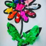 Tissue Paper Crafts Ideas Flower Art1 751x1024