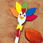 Tissue Paper Turkey Craft 14226840