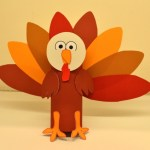 Tissue Paper Turkey Craft Printable Activity For Kids Create Your Own Turkey1 1024x682