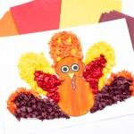 Tissue Paper Turkey Craft Turkey Tissue Paper 4 tissue paper turkey craft |getfuncraft.com