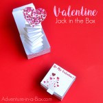 Valentine Paper Crafts Kids Jack In The Box Surprise Valentine Craft With A Free Printable Template Fb