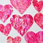 Valentine Paper Crafts Kids Shaving Cream Heart Art 25 Valentine Crafts For Kids E1515911064646 valentine paper crafts kids|getfuncraft.com