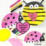 Valentine Paper Crafts Kids Valentine Paper Plates