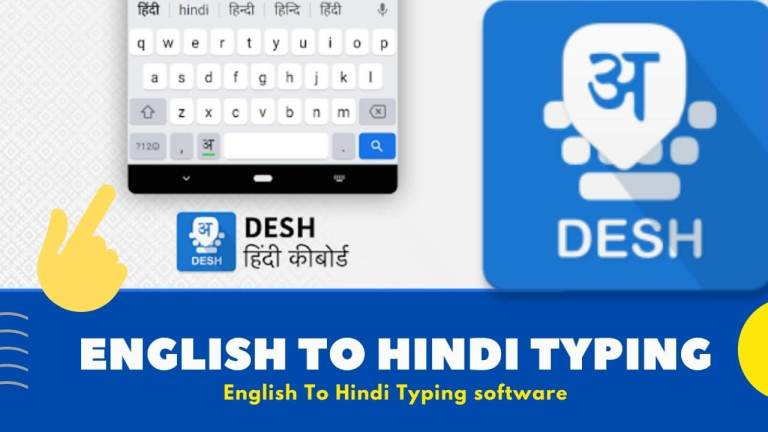 english to hindi typing software