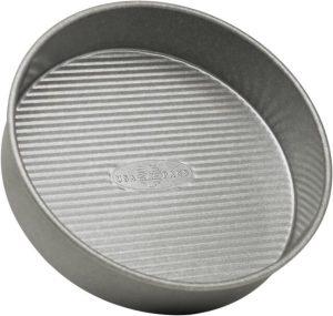 Best Choice: USA Pan Aluminized Steel 9x2 Inch Round Layer Cake Pan
