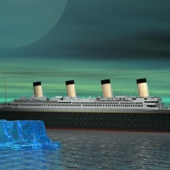 Entitlements for Boomers GenX LIke Titanic Illustration