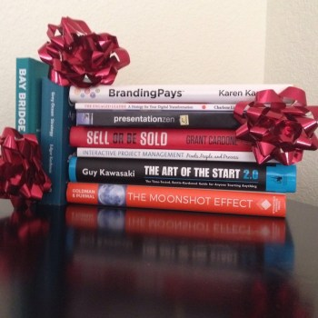 photo of books as inspirational gifts for smart thinkers