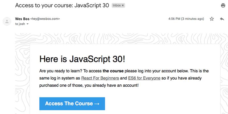 Gist Javascript30 Course