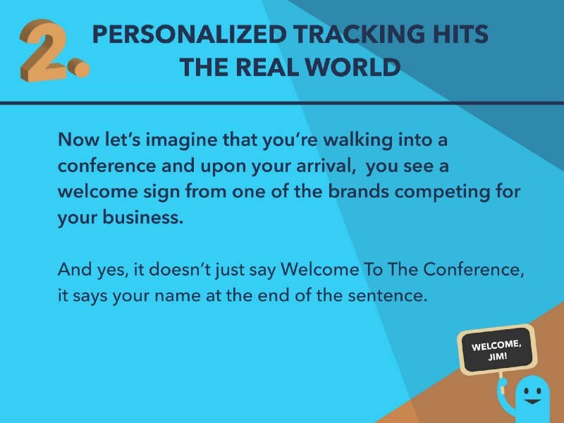Personalized Tracking Competing Business
