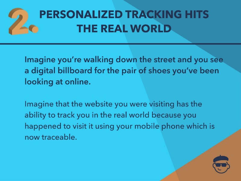 Personalized Tracking Looking online