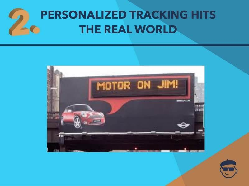 Personalized Tracking Motor JIM