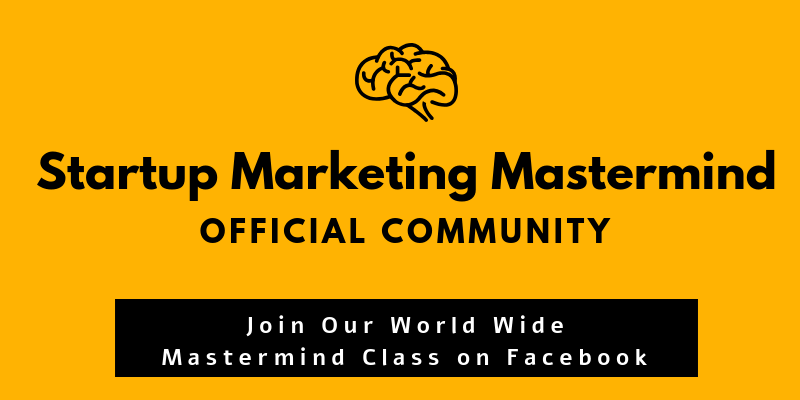 Startup marketing mastermind