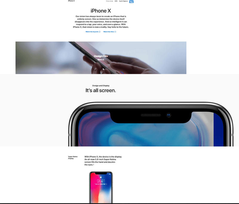 Clear Messaging Hierarchy