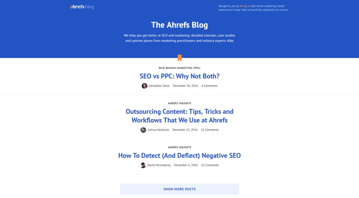 Digital Marketing Ahrefs Blog