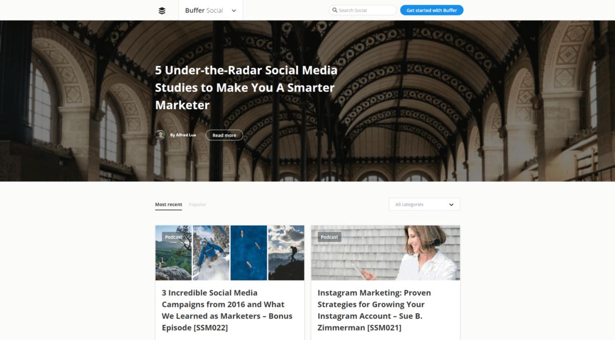 Digital Marketing Buffer