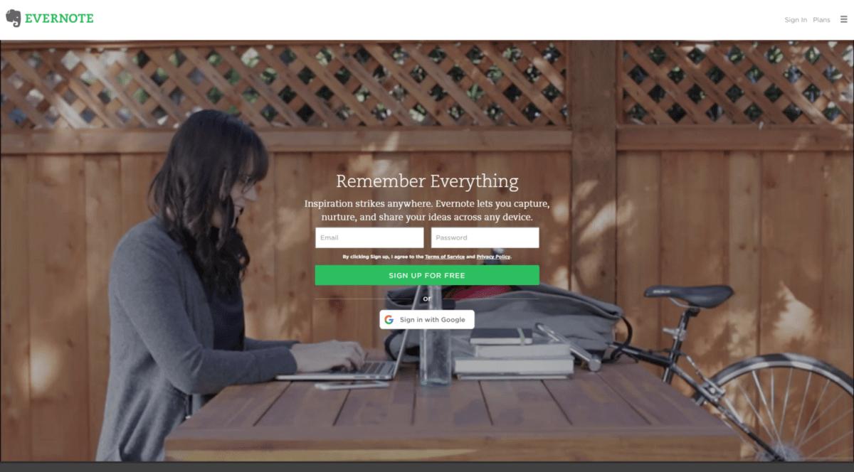 Digital Marketing Evernote